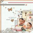key to my heart by sahlin studio layout by: dianeskie