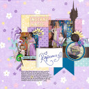 christie - inspirational scrapbook layout