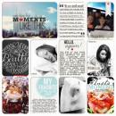 neeceebee - inspirational scrapbook layout