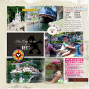"""Disney Digital Project Life page created by amberr featuring """"Project Mouse: Bundle No. 3 - Character Moments"""" by Sahlin Studio & Britt-ish Designs"""