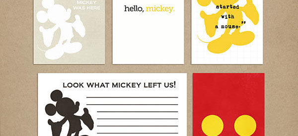 sahlin studio mr mouse cards freebie