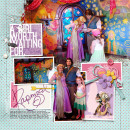 Disney Project Life page created by amberr featuring Project Mouse Princess by Sahlin Studio & Britt-ish Designs - 1a