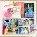 Disney Project Life page created by amberr featuring Project Mouse Princess by Sahlin Studio & Britt-ish Designs - 2b