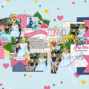 Disney Project Life page created by clemmon03 featuring Project Mouse Princess by Sahlin Studio & Britt-ish Designs
