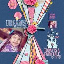Disney Project Life page created by damayanti featuring Project Mouse Princess by Sahlin Studio & Britt-ish Designs