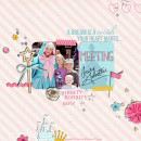 Disney Project Life page created by littlemuffin06 featuring Project Mouse Princess by Sahlin Studio & Britt-ish Designs