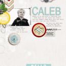"""Digital Scrapbook Page created by askings featuring """"Wood Veneer - Arrows"""" by Sahlin Studio"""