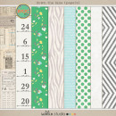 down the lane (papers) by sahlin studio
