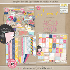 "Project Mouse: BUNDLE No. 5 ""Princess Edition"" by Britt-ish Designs and Sahlin Studio"