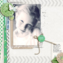Digital Scrapbook page created by becca1976 featuring Down the Lane by Sahlin Studio