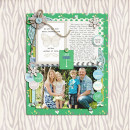 Digital Scrapbook page created by pne123 featuring Down the Lane by Sahlin Studio