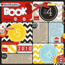 Disney Project Life page created by jenns featuring Project Mouse by Sahlin Studio & Britt-ish Designs