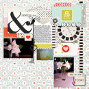 Digital Scrapbook page created by gonewiththewind featuring Melon Sorbet by Sahlin Studio