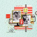 Digital Scrapbook page created by icajovita featuring Melon Sorbet by Sahlin Studio