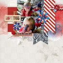 """Digital Scrapbook page created by amberr featuring """"Year of Templates: Vol 12"""" by Sahlin Studio"""
