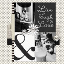 """Digital Scrapbook page created by dul featuring """"Year of Templates: Vol 12"""" by Sahlin Studio"""