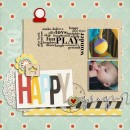 """Digital Scrapbook page created by mlleterramoka featuring """"Year of Templates: Vol 12"""" by Sahlin Studio"""