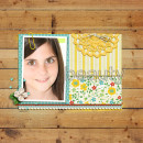 """Digital Scrapbook page created by rlma featuring """"Year of Templates: Vol 12"""" by Sahlin Studio"""