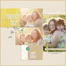 """Digital Scrapbook page created by taramck featuring """"Year of Templates: Vol 12"""" by Sahlin Studio"""