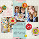 Digital Scrapbook page created by kristasahlin