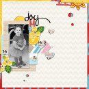 "Digital Scrapbook page created by MlleTerraMoka featuring ""Project Mouse (Fantasy)"" by Sahlin Studio"