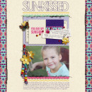 "Digital Scrapbook page created by crystalbella77 featuring ""Aztec Summer"" by Sahlin Studio"