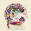 """Digital Scrapbook page created by dianeskie featuring """"Aztec Summer"""" by Sahlin Studio"""