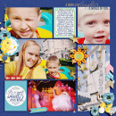 """Digital Scrapbook page created by camijo featuring """"Project Mouse (Fantasy)"""" by Sahlin Studio"""