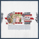 "Digital Scrapbook page created by carolee featuring ""Country Fair Picnic"" by Sahlin Studio"