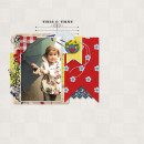 """Digital Scrapbook page created by mlleterramoka featuring """"Country Fair Picnic"""" by Sahlin Studio"""