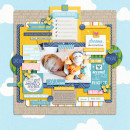 """Digital Scrapbook page created by pne123 featuring """"Project Mouse (Fantasy)"""" by Sahlin Studio"""