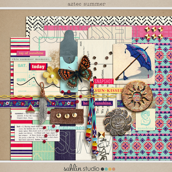 Aztec Summer (kit) by Sahlin Studio