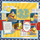 """Digital Scrapbook page created by yzerbear19 featuring """"Project Mouse (Fantasy)"""" by Sahlin Studio"""