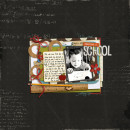School & Reading Digital Scrapbook Layout by crystalbella using Explore.Learn.Grow. Kit Learning: Journaling Bits, and Snipettes: Explore.Learn.Grow. by Sahlin Studio