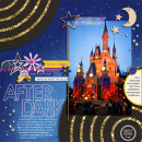 castle at night layout by mikinenn using Project Mouse: At Night by Sahlin Studio & Britt-ish Designs