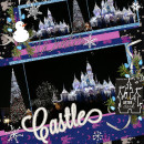 Winter Castle layout by wendy using Project Mouse: At Night by Sahlin Studio & Britt-ish Designs