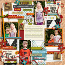 First day of first and third grade layout by pne123 using Journal Cards: School and Explore.Learn.Grow Bundle by Sahlin Studio