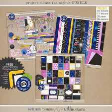 Project Mouse (At Night): Bundle by Sahlin Studio and Britt-ish Designs