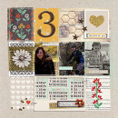 thankful layout by Heather Prins using Reflection kit by Sahlin Studio
