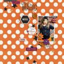 halloween magic page Jenn Barrette using Project Mouse: Halloween Edition by Sahlin Studio & Britt-ish Designs