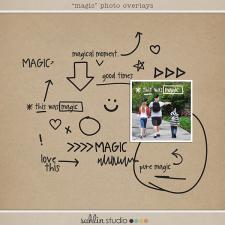 Magical Photo Overlays by Sahlin Studio