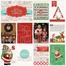 Christmas digital pocket scrapbook page by TeresaVictor using Santa's Workshop by Sahlin Studio