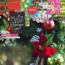 Christmas layout by PuSticks using Project Mouse: Christmas by Britt-ish Designs & Sahlin Studio