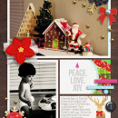 Christmas layout by raquels Christmas layout by rlma using Project Mouse: Christmas by Britt-ish Designs & Sahlin Studio