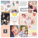 Project Life layout by britt using Pure Happiness by Sahlin Studio