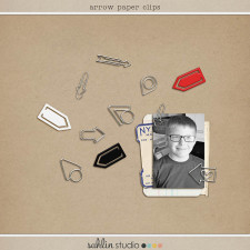 Digital Arrow Paper Clips by Sahlin Studio