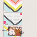 Scootch Digital Scrapbooking Layout by stampin_rachel using Paper Clip - Arrows by Sahlin Studio
