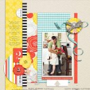 Daddy / Daughter digital scrapbook layout by mamatothree using Pure Happiness by Sahlin Studio