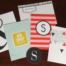 Pocket Scrapbooking cards, perfect for Project Life albums featuring Melon Sorbet by Sahlin Studio