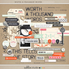 Worth A Thousand Words (Elements) by Sahlin Studio